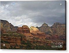 Boynton Canyon II Acrylic Print by Dave Gordon