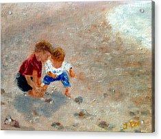 Boys At Play Acrylic Print