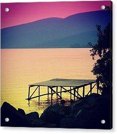 Bracciano' S Lake Acrylic Print