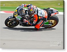 Acrylic Print featuring the photograph Bradl by Jeff Loh
