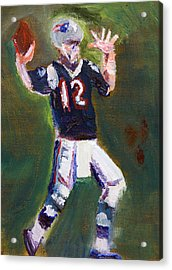 Superbowl Champ Acrylic Print