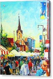 Brady Street Acrylic Print