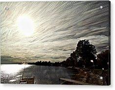Braided Sky Acrylic Print by Matt Molloy
