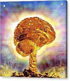 Brain As Atomic Bomb Acrylic Print
