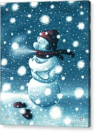 Brain Freeze Acrylic Print
