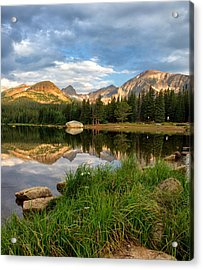 Brainard Lake Reflections Acrylic Print