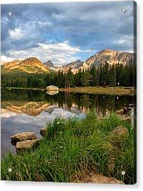 Brainard Lake Reflections Acrylic Print by Ronda Kimbrow