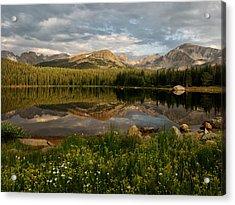 Acrylic Print featuring the photograph Brainard Lake by Ronda Kimbrow