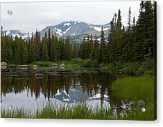 Acrylic Print featuring the photograph Brainerd Lakes Spring Rain by Eric Rundle