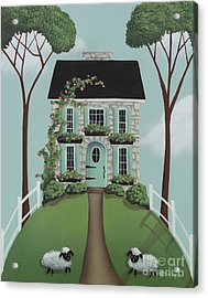 Brambleberry Cottage Acrylic Print by Catherine Holman