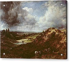Branch Hill Pond, Hampstead Heath, 1828 Oil On Canvas Acrylic Print by John Constable