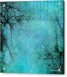 Branches Acrylic Print by Priska Wettstein