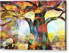 Branching Out Acrylic Print by Fania Simon