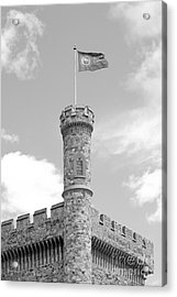 Brandeis University Usen Castle Acrylic Print by University Icons