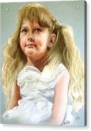 Brandi Acrylic Print by Zelma Hensel