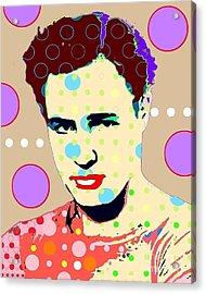 Brando Acrylic Print by Ricky Sencion