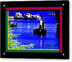 Brannan Island Road California Acrylic Print