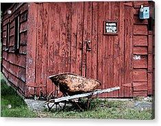 Brant Lake Barn Acrylic Print