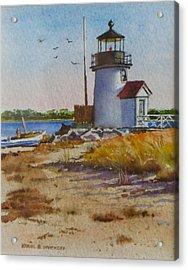 Brant Point Light Nantucket Acrylic Print by Karol Wyckoff