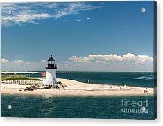Brant Point Light Nantucket Acrylic Print by Michelle Wiarda