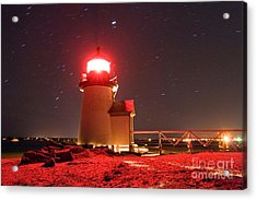 Brant Point Lighthouse Acrylic Print by Chris Cook