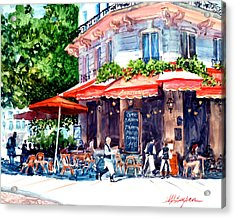 Brasserie Isle St. Louis Acrylic Print