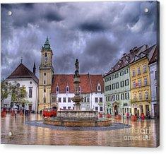 Bratislava Old Town Hall Acrylic Print