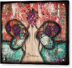 Brave Soul Acrylic Print by Shawn Petite