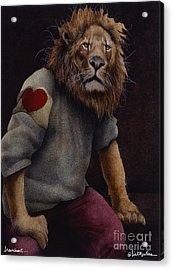 Braveheart... Acrylic Print by Will Bullas