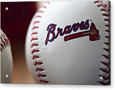Braves Baseball Acrylic Print