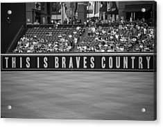 Braves Country Acrylic Print