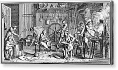 Brazier, 18th Century Acrylic Print by Granger
