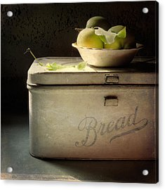 Bread Acrylic Print by Sally Banfill