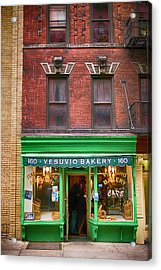 Bread Store New York City Acrylic Print by Garry Gay