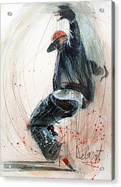 Break Dancer2 Acrylic Print