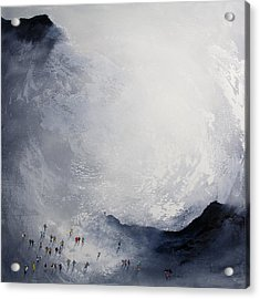 Break In The Weather Original Painting By Neil Mcbride Acrylic Print by Neil McBride