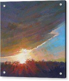 Break Through Acrylic Print by Ed Chesnovitch