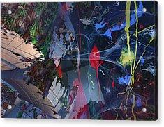 Break Through Acrylic Print by Roger Pearce