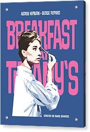 Breakfast At Tiffany's Acrylic Print