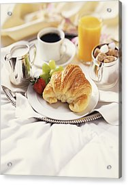 Breakfast In Bed Acrylic Print by Armstrong Studios