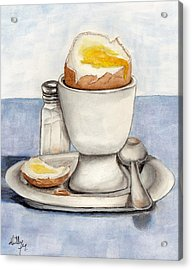 Breakfast Is Ready Acrylic Print by Kelly Mills