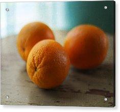 Breakfast Oranges Acrylic Print