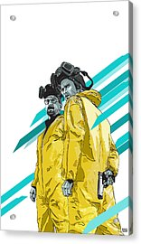 Breaking Bad Acrylic Print by Jeremy Scott