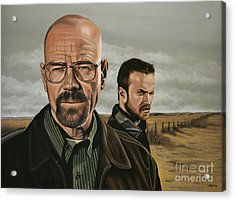 Breaking Bad Acrylic Print by Paul Meijering