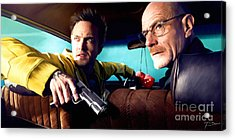 Breaking Bad Acrylic Print by Paul Tagliamonte