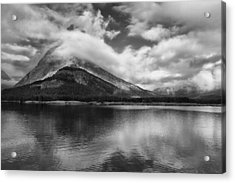 Breaking Clouds Acrylic Print by Andrew Soundarajan