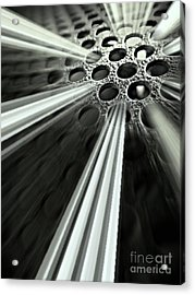 Breaking Out Acrylic Print by Clare Bevan