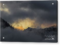 Breaking Storm Acrylic Print by Mitch Shindelbower