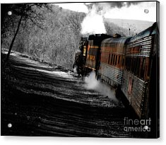 Breaking The Time Barrier  Acrylic Print by Steven Digman