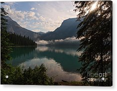 Breaking Through Acrylic Print by Charles Kozierok